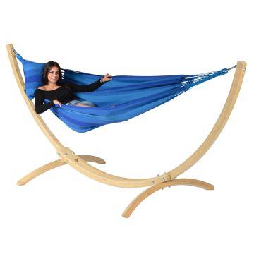 Wood & Dream Blue Yhden HengenRiippumatto Telineellä