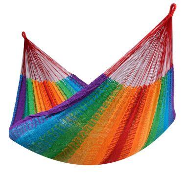 Mexico Rainbow Kahden Hengen Riippumatto