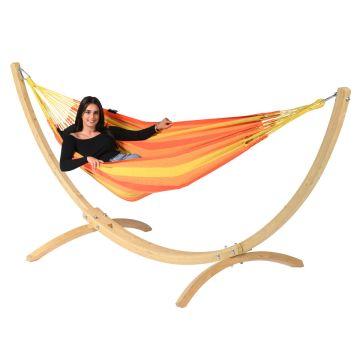Wood & Dream Orange Yhden HengenRiippumatto Telineellä