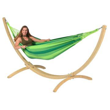 Wood & Dream Green Yhden HengenRiippumatto Telineellä